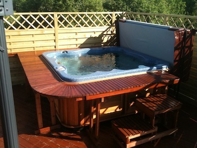arctic spas hot tub from paul in Norway